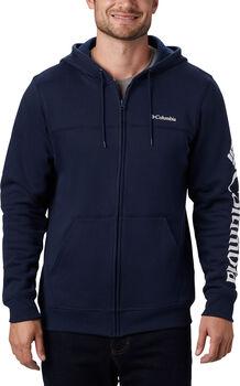 Columbia M Logo FZ Fleece férfi kapucnis felső Férfiak kék