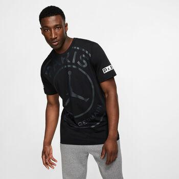 Nike  M J PSG SS Logo Teeférfi póló Férfiak fekete