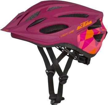 KTM Lady Line női kerékpáros sisak Nők lila