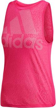 ADIDAS Magic Logo Tank női top Nők rózsaszín