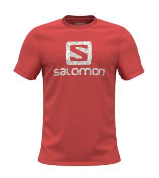 Salomon Outlife Logo férfi póló Férfiak narancssárga