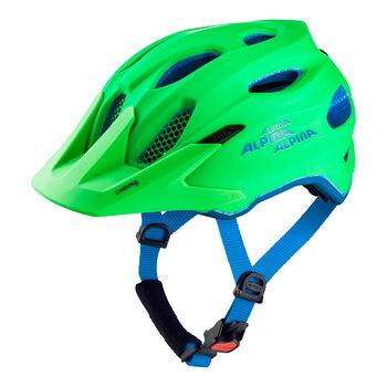 ALPINA Carapax Jr gyerek kerékpáros sisak zöld