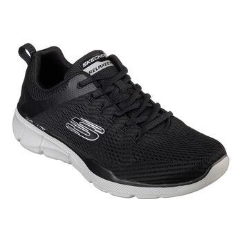 Skechers Equalizer 3.0 férfi sportcipő Férfiak fekete