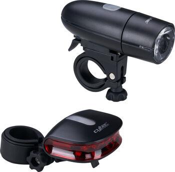 Cytec 23LUX Batterie StVZO biciklis világító berendezés fekete