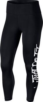 Nike One JDI Training Tights Nők fekete