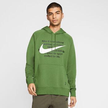 Nike Sportswear Swoosh férfi kapucnis felső Férfiak zöld