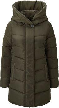 TOM TAILOR Winterly Puffer női kabát Nők zöld