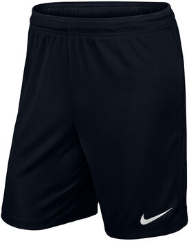 Nike Yth Park II Knit gyerek rövidnadrág fekete