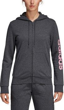 ADIDAS Essential Linear Hoodie női kapucnis felső Nők szürke