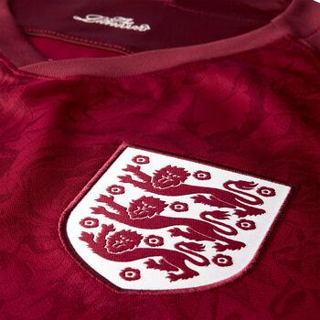 Nike Dri-FIT Breathe England Stadium AwaySoccer Jersey Férfiak piros