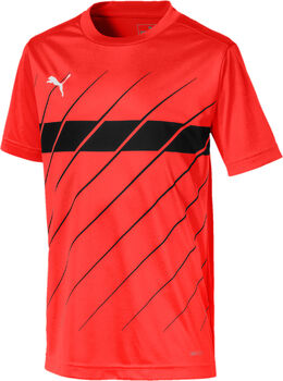 Puma  ftblPLAY Graphic Shirtgyerek trikó piros
