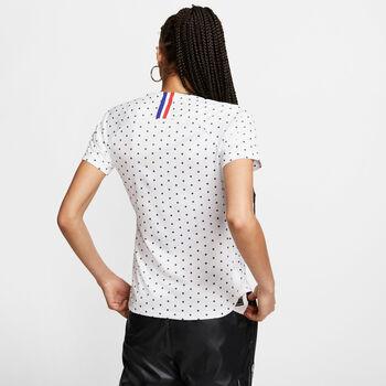 Nike Dri-FIT Breathe France FF Away női focimez Nők fehér