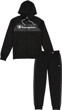 Champion  Hood.Full Zip Suitférfi szabadidőruha Férfiak fekete