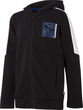 PUMA Boy Hooded Zip Jacket fekete