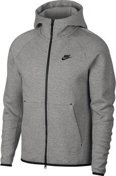 Nike Nsw Tch Flc Hoodie kapucnis felső Férfiak szürke