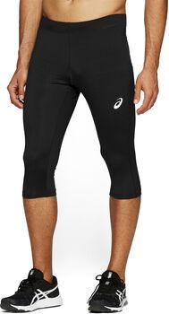 Asics Silver Knee Tight férfi 3/4-es futónadrág Férfiak fekete