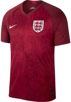 Nike Dri-FIT Breathe England Stadium AwaySoccer Jersey piros