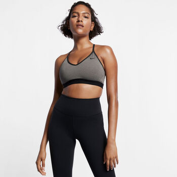 Nike Indy Light-Support Sports Bra sportmelltartó Nők szürke
