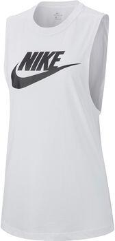 Nike Essential női ujjatlan felső Nők fehér
