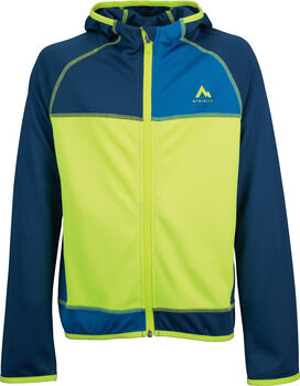 McKINLEY Montina hd jrs. gyerek fleece kabát zöld