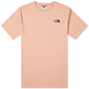 The North Face S/S Redbox férfi póló Férfiak rózsaszín