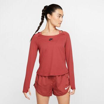 Nike  W Nk Top LS Airnői futóing Nők rózsaszín