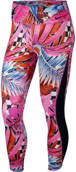 Nike One Printed 7/8 Training Tights Nők rózsaszín