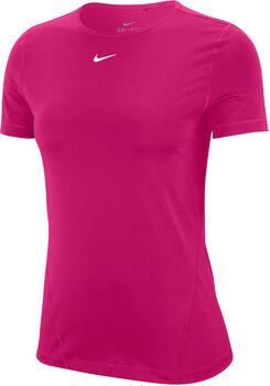 Nike Pro SS Mesh női póló Nők rózsaszín
