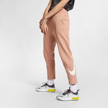 Nike Sportswear Swoosh French Terry Pants Nők rózsaszín