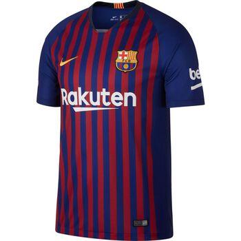 Nike Breathe FC Barcelona Home felnőtt focimez Férfiak kék