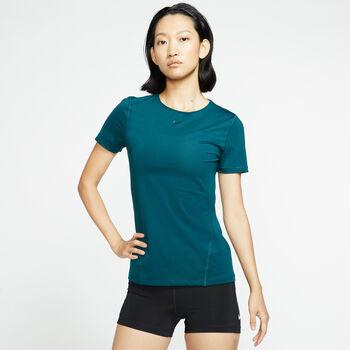 Nike Pro SS Mesh női póló Nők türkiz