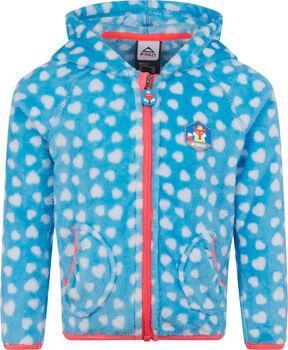 McKINLEY Trixie lány fleece kapucnis felső kék