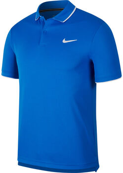 Nike Court Dri-FIT férfi teniszpóló Férfiak kék