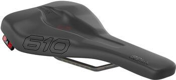 SQlab 610 Ergolux Active kerékpáros nyereg fekete