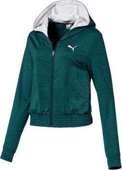 Puma  Soft Sports Drapeynői kapucnis szabadidőfelső Nők zöld