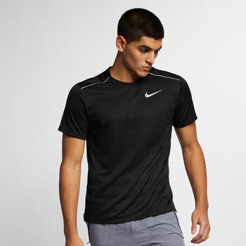 Nike Dri-FIT Miler Top férfi póló Férfiak fekete