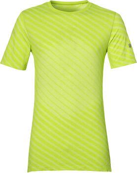 Asics Seamless SS Top férfi futópóló Férfiak zöld