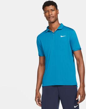 Nike Court Dri-FIT Victory férfi galléros póló Férfiak kék