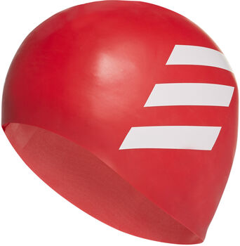 adidas Silicon 3S úszósapka piros