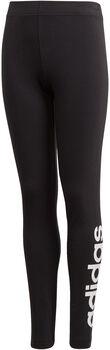 adidas YG Essentials Linear Tight lány nadrág fekete