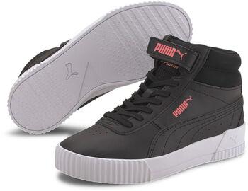Puma Carina Mid Jr gyerek szabadidőcipő fekete