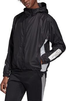 adidas  W  W.N.D.női kapucnis kabát Nők fekete