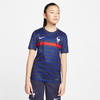 Nike FFF Brt Stad Jersey HM gyerek póló kék