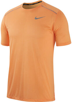 Nike Dri-FIT Miler Running Top férfi futópóló Férfiak narancssárga