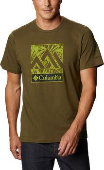 Columbia Rapid Ridge Graphic férfi póló Férfiak zöld