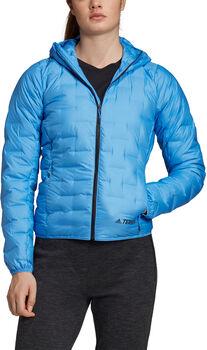 adidas W Light Down Ho női túradzseki Nők kék
