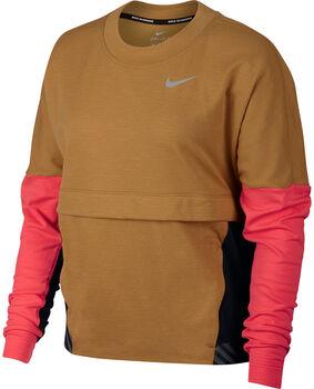 Nike Therm Sphere női hossú ujjú futófelső Nők sárga