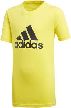 ADIDAS YB Essentials Logo gyerek póló sárga