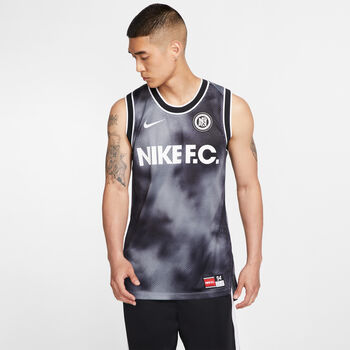 Nike M Nk Fc Top ujjatlan férfi felső Férfiak fekete