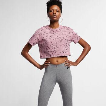 Nike Essential Short-Sleeve Crop női póló Nők lila